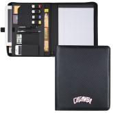 Carbon Fiber Tech Padfolio-Catawba Primary Mark