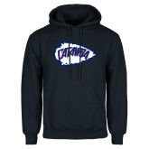 Navy Fleece Hood-Catawba Arrowhead