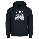 Navy Fleece Hoodie-Soccer on Top