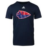 Adidas Navy Logo T Shirt-Arrowhead
