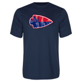 Syntrel Performance Navy Tee-Arrowhead