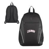 Atlas Black Computer Backpack-Catawba Primary Mark