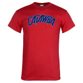 Red T Shirt-Catawba Primary Mark
