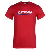 Red T Shirt-Catawba with Swoop