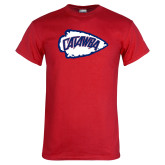 Red T Shirt-Catawba Arrowhead