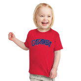 Toddler Red T Shirt-Catawba Primary Mark