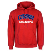 Red Fleece Hood-Grandpa