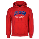 Red Fleece Hood-Soccer