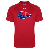 Under Armour Red Tech Tee-Arrowhead