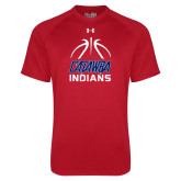 Under Armour Red Tech Tee-Basketball on Top