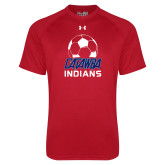 Under Armour Red Tech Tee-Soccer on Top