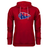 Adidas Climawarm Red Team Issue Hoodie-Arrowhead