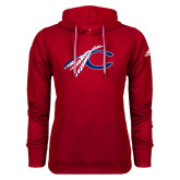 Adidas Climawarm Red Team Issue Hoodie-C with Feathers