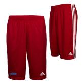 Adidas Climalite Red Practice Short-Catawba Primary Mark