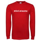 Red Long Sleeve T Shirt-GoCatawba