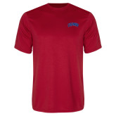 Performance Red Tee-Catawba Primary Mark