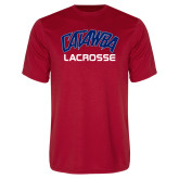 Syntrel Performance Red Tee-Lacrosse