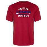 Syntrel Performance Red Tee-Football on Top with Swoop