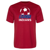 Performance Red Tee-Soccer on Top