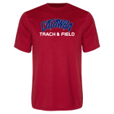 Syntrel Performance Red Tee-Track & Field