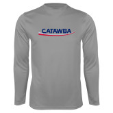 Performance Steel Longsleeve Shirt-Catawba with Swoop