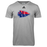 Adidas Climalite Sport Grey Ultimate Performance Tee-Arrowhead