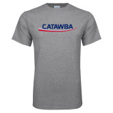 Grey T Shirt-Catawba with Swoop