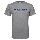 Grey T Shirt-GoCatawba