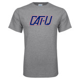 Grey T Shirt-Cat U