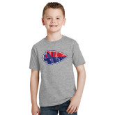 Youth Grey T-Shirt-Arrowhead