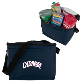 Six Pack Navy Cooler-Catawba Primary Mark