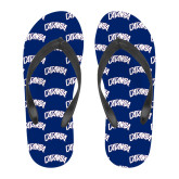 Full Color Flip Flops-Catawba Primary Mark