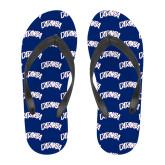 Full Color Flip Flops-Catawba Primary Mark