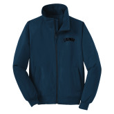Navy Charger Jacket-Catawba Primary Mark