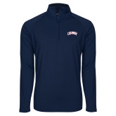 Sport Wick Stretch Navy 1/2 Zip Pullover-Catawba Primary Mark