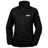 Columbia Mighty LITE Ladies Black Jacket-Catawba Primary Mark