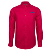 Red House Red Long Sleeve Shirt-Catawba Primary Mark