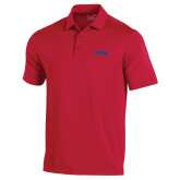 Under Armour Red Performance Polo-Catawba Primary Mark