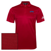 Adidas Climalite Red Grind Polo-Catawba Primary Mark