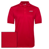 Red Dry Mesh Polo-Catawba with Swoop