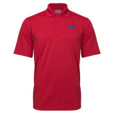 Red Mini Stripe Polo-Catawba Primary Mark