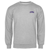 Grey Fleece Crew-Catawba Primary Mark
