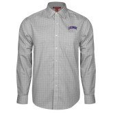 Red House Grey Plaid Non Iron Long Sleeve Shirt-Catawba Primary Mark