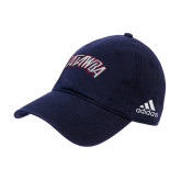 Adidas Navy Slouch Unstructured Low Profile Hat-Catawba Primary Mark