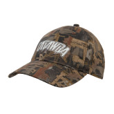 Oilfield Camo Structured Hat-Catawba Primary Mark