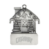 Pewter House Ornament-Catawba Primary Mark Engraved