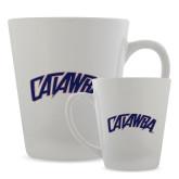 12oz Ceramic Latte Mug-Catawba Primary Mark