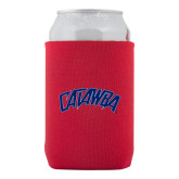 Collapsible Red Can Holder-Catawba Primary Mark