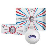 Callaway Supersoft Golf Balls 12/pkg-Catawba Primary Mark