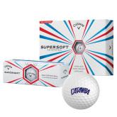 Callaway Supersoft Golf Balls 12/pkg-Catawba Primary Mark